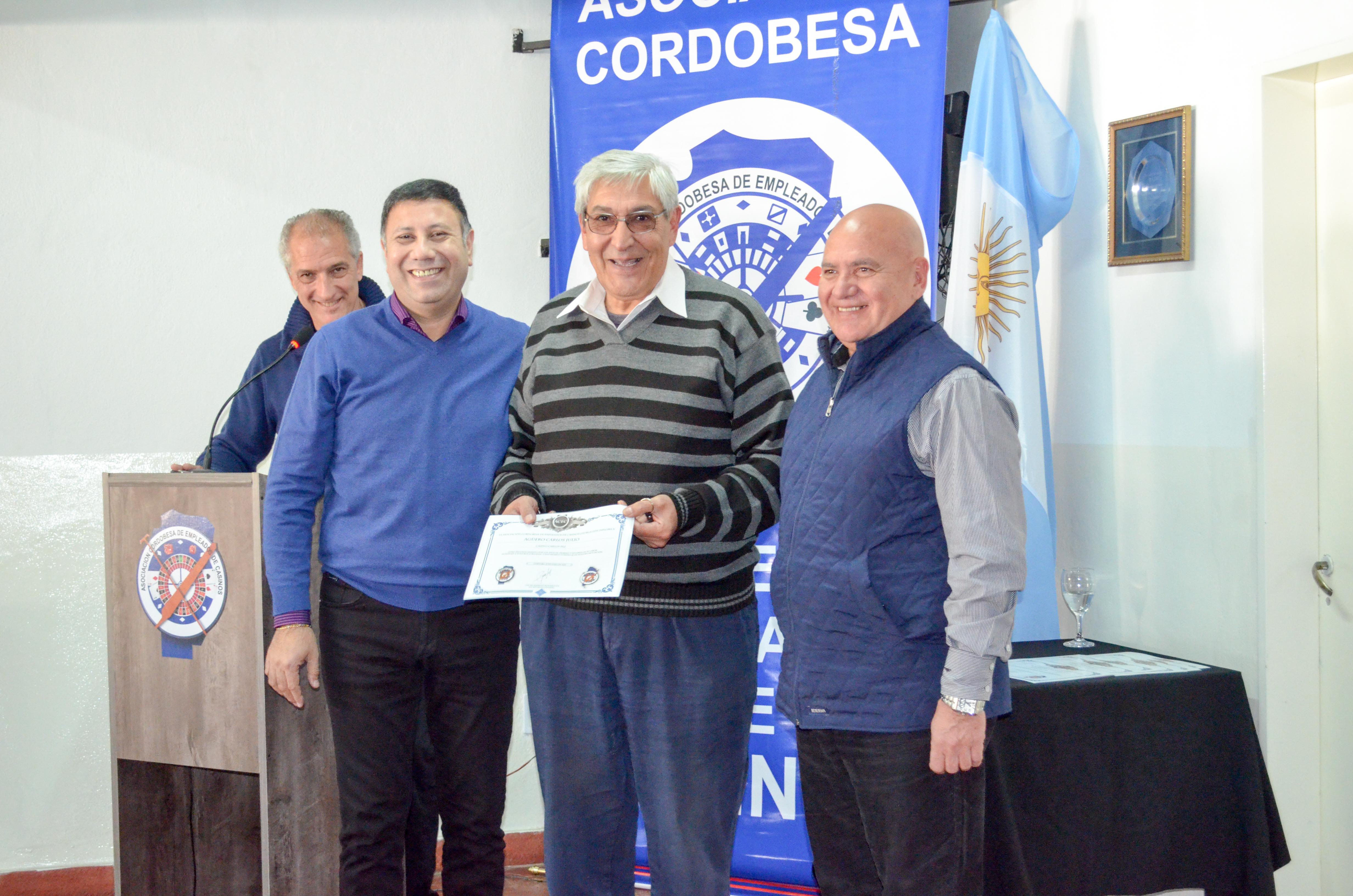 41 años de la Asociación Cordobesa de Empleados de Casinos Y HOMENAJE A JUBILADOS - 2015